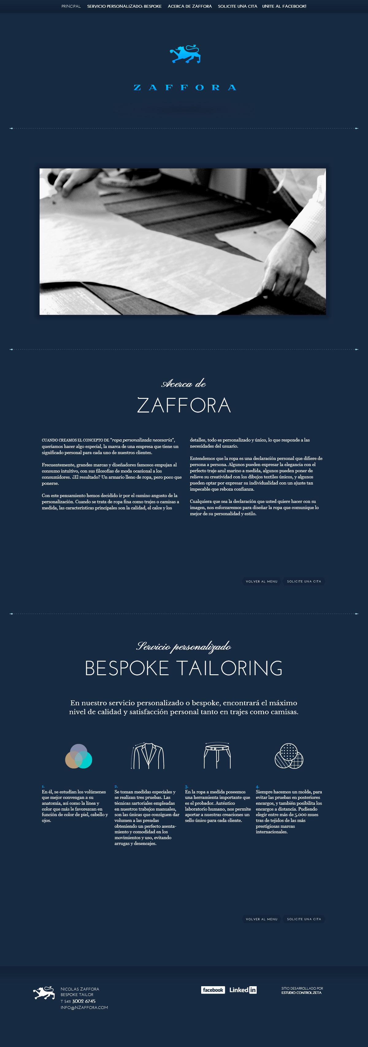 Zaffora Bespoke – Estudio Controlzeta